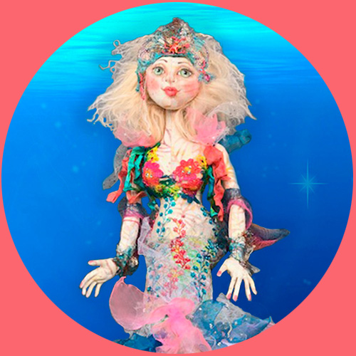 Cloth Doll Mermaids DVD and Workshop - Patti Culea